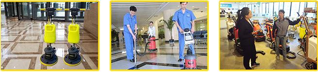 专业精良设备、专业保洁工具配置
